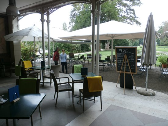 View Of The Back Of The Villa Picture Of Cafe Merian