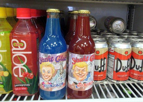 Spooky Political Drinks, Alien Fresh Jerky, Baker, CA