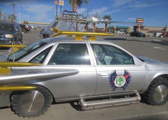 Alien Car, Alien Fresh Jerky, Baker, CA