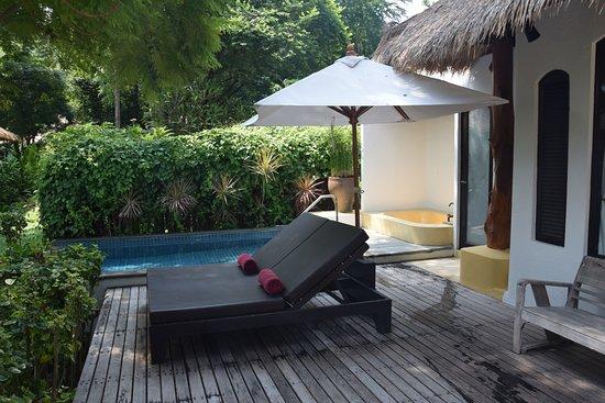 Paradee Resort & Spa Hotel: Private pool