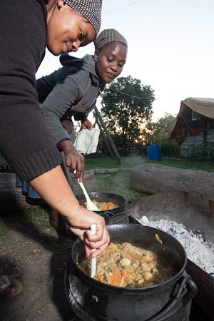 Wilderness, Sudáfrica: potjie pots that makes the best afarican meal