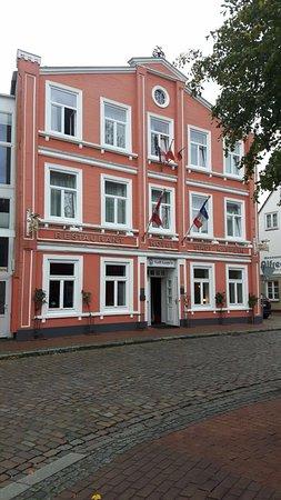 Hotel Stadt Kappeln: Ansicht von der Straßenseite