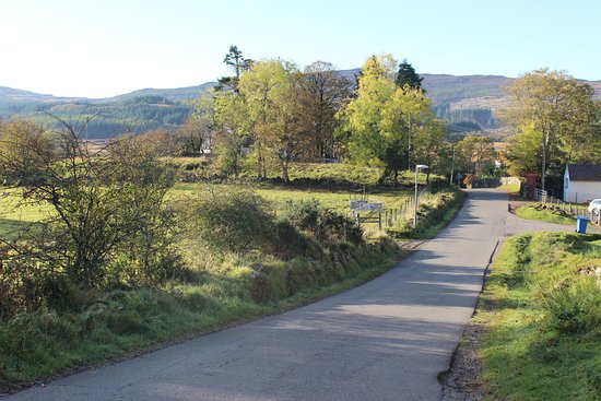 Dervaig, UK: the view from the room
