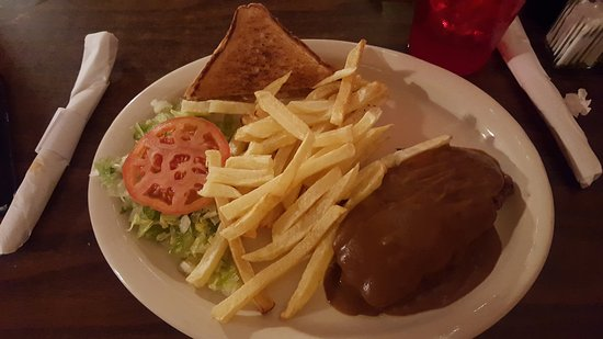 Hondo, TX: Cheeses Burger Steak