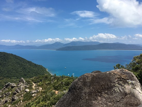 Fitzroy Island, Australia: View from the Summit