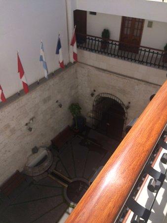 Casona Terrace Hotel: Recepción