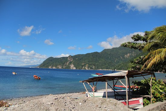 Roseau, Dominica: on the way