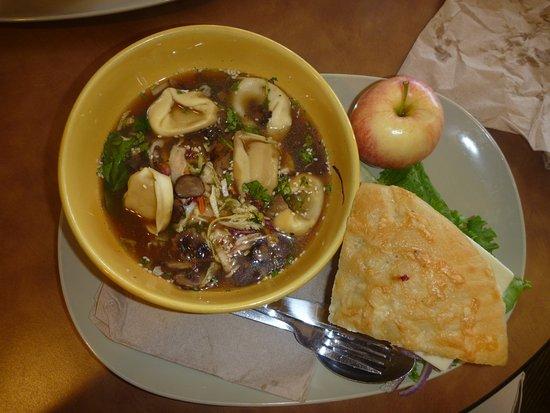 Panera Bread: Half Sandwich with Thai Soup Bowl