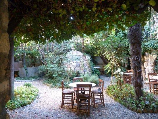 Hotel Empress Zoe: The garden