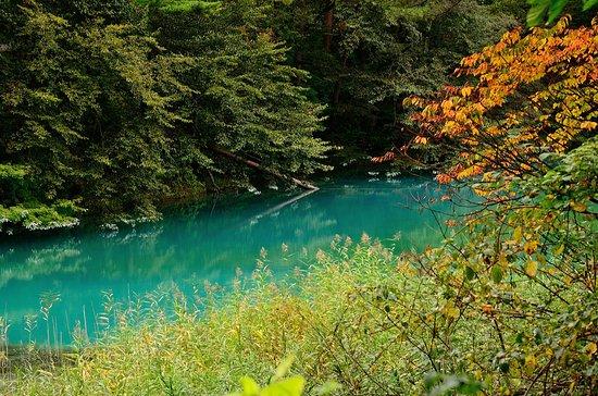 Kitashiobara-mura, ญี่ปุ่น: Goshikinuma Lake