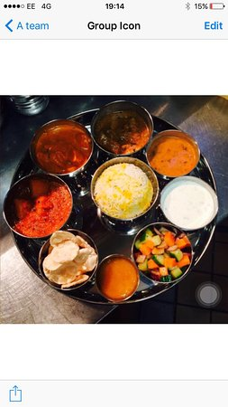 Cranford, UK: Monthly Curry Night