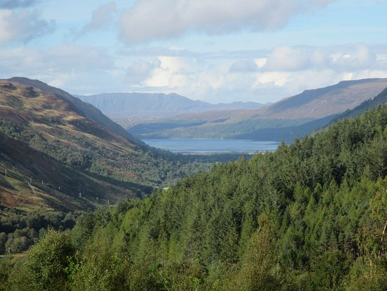 Contin, UK: View to Ullapool