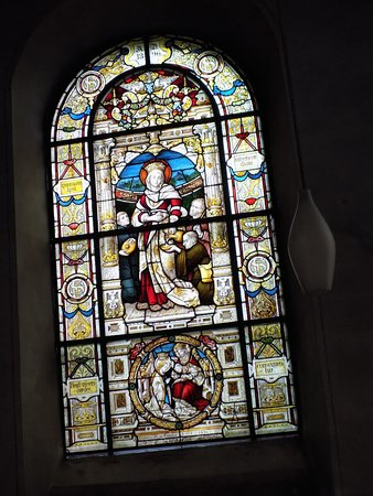 Jozefskapelle: Stained glass