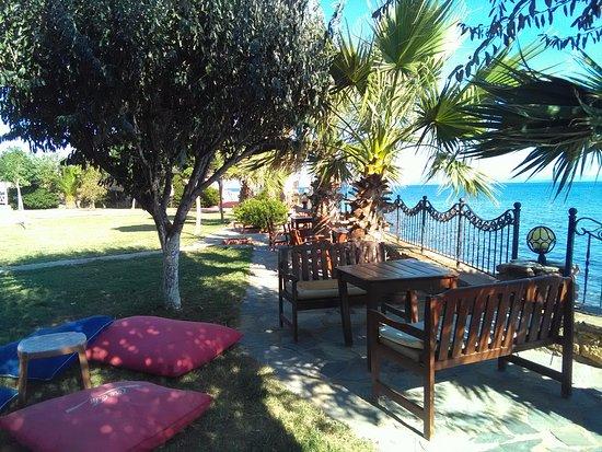 Altinoluk, Turkey: Strand und Garten
