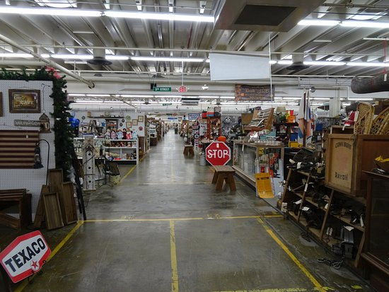 Inside Factory Antique Mall