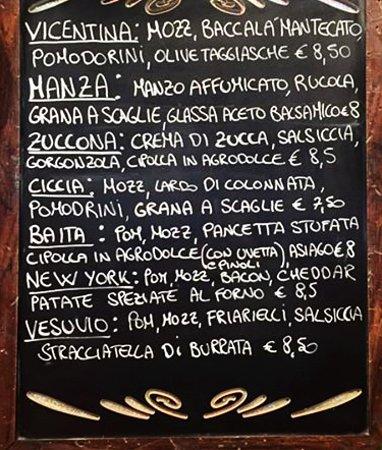 Oriago di Mira, Włochy: Le NOSTRE nuove pizze AUTUNNALI 2016!!!! :)