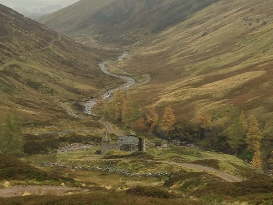 Spittal of Glenshee, UK: View from Glas Tulaichean