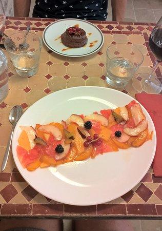 Montblanc, França: Dessert