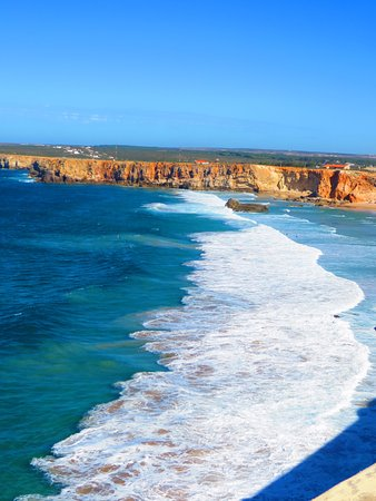 Salema, Portugal: The surfing beach at Sagres.