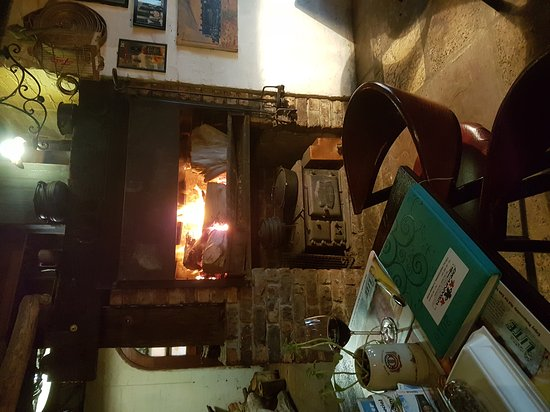 Wittmund, Germany: Cosy fire and red wine