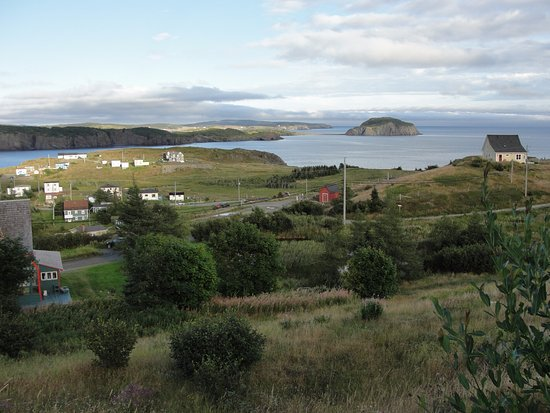 Port Rexton, Canada: View from front porch of building that houses dining room