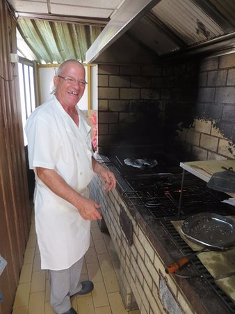 Burgau, Portugal: Veteran Chef