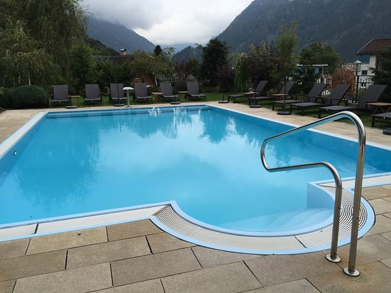 aussenpool bild von l wen hotel montafon schruns tripadvisor. Black Bedroom Furniture Sets. Home Design Ideas