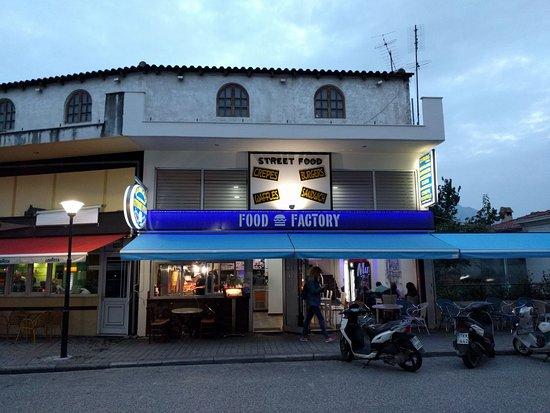 food factory delicious vegetarian gyros tasttty giant crepe