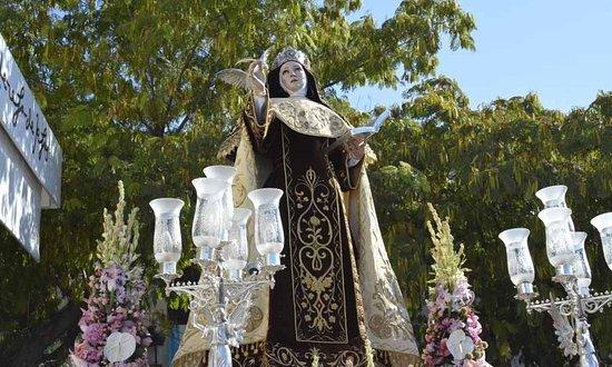 Malagón, España: Festividad Santa Teresa 2016