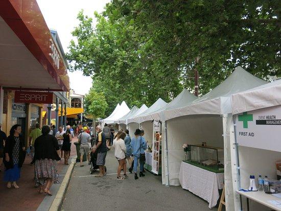 Subiaco, Australie : Markets and Stalls