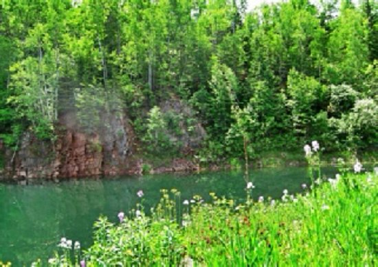 Ironwood, ميتشجان: Aurora Pond Mine Site
