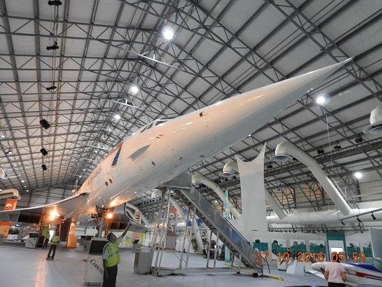 Barbados Concorde Experience: Beautiful piece of aviation history