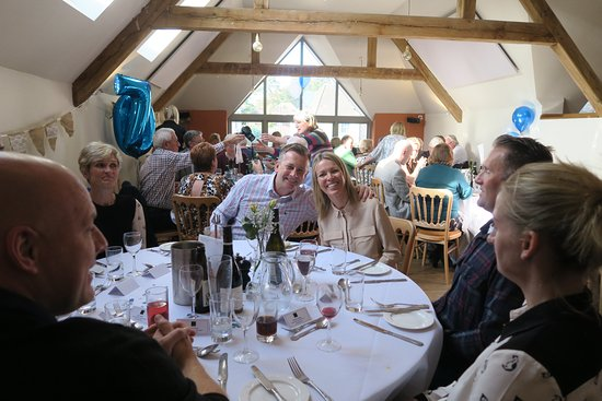 Cuckfield, UK: A party for family and friends at The Hayloft
