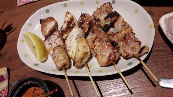 Shunjuu: Gindara and chicken with plum