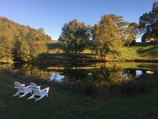 Fairhill Farm: On-Site Lake