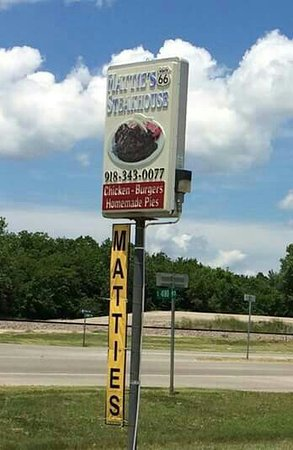 Claremore, OK: Mattie's 66 Steakhouse
