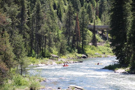 Cascade, Айдахо: Explore the Payette River...on the water...Thrills and Memories forever