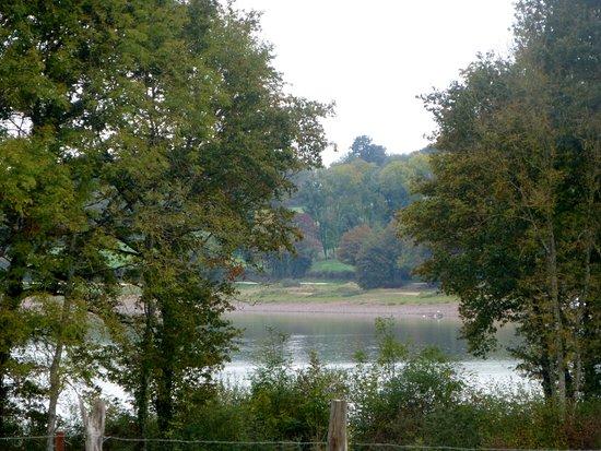 Saint-Fargeau, Франция: LE LAC VU DES CHAMBRES