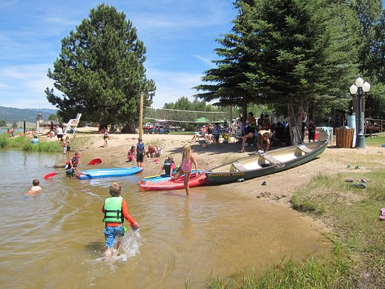 Cascade, Idaho: Family fun June, July and August...Grandkids love it, too