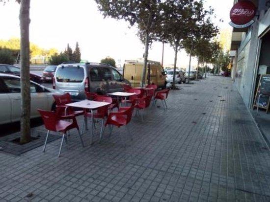 Utebo, สเปน: Terraza