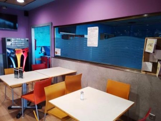 Utebo, สเปน: Interior restaurante