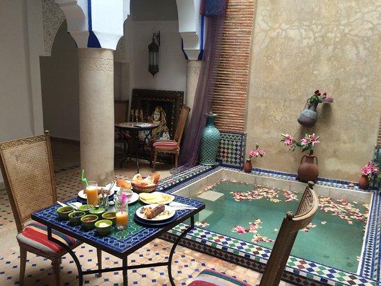 Riad Tamarrakecht: breakfast delicious!