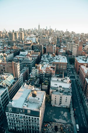 View from penthouse Picture of NoMo SoHo Hotel New York City