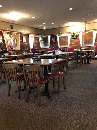 Geneseo, NY: The inside, very clean. They charged me 85 cents for blue cheese dressing for my salad. Hello. P