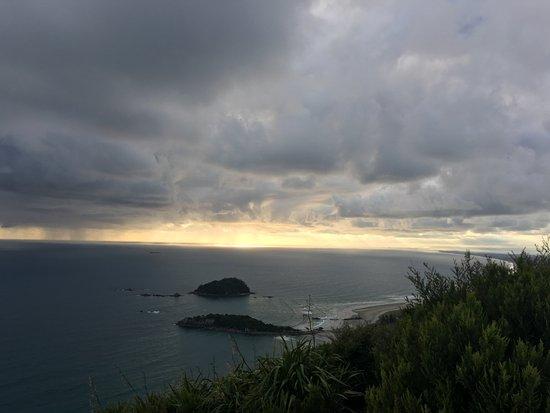 Mount Maunganui, นิวซีแลนด์: Amanecer en Mt. Maunganui