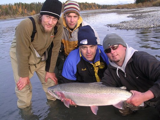 Cooper Landing, AK: Fun Fishing!
