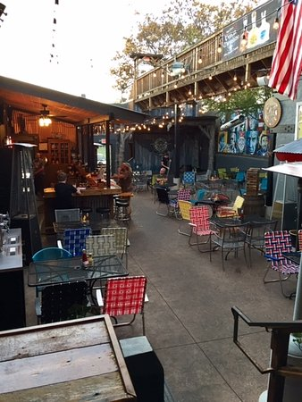 the outside bar and patio picture of far from folsom prescott