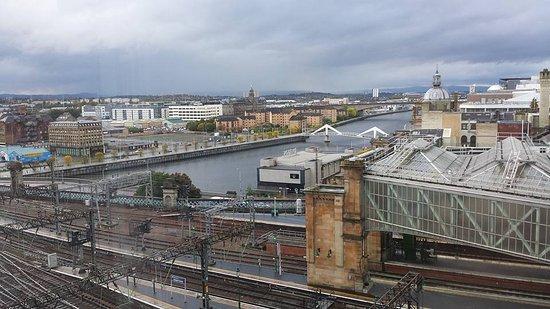 Jurys Inn Glasgow: Glasgow room view.