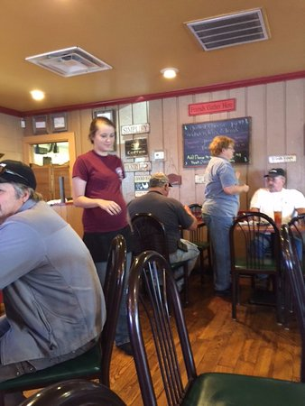 Hillbilly's Cabin Restaurant : Daily specials on the board