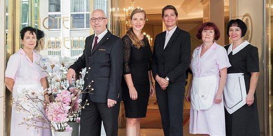 Hotel Amadeus: Team